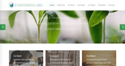 Evergreen Labs website goes live